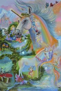 Rainbow Unicorns by Sue Clyne