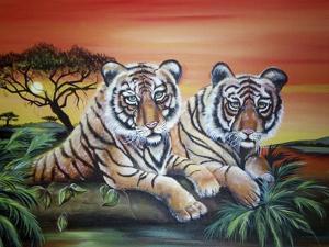 Tigers by Sue Clyne