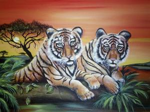 Tigers by Sue Clyne