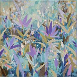 Purple Garden by Sue Davis