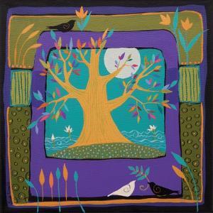 Tree In The Moonlight by Sue Davis