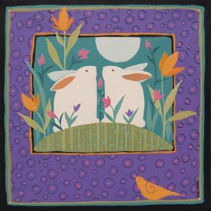 Two Rabbits by Sue Davis