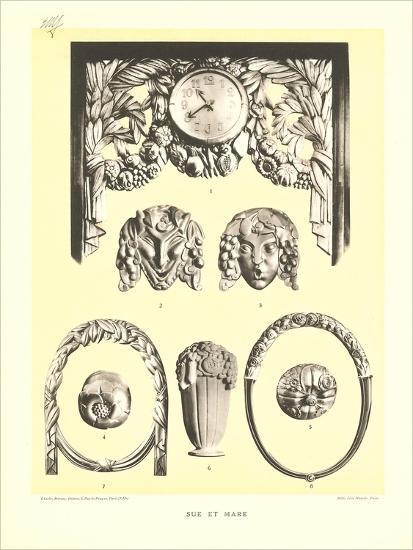 Sue Et Mare Decorative Elements--Art Print