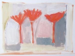 Red Trees, 2002 by Sue Jamieson