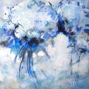 Hydrangeas on My Mind I by Sue Riger