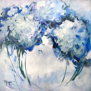 Hydrangeas on My Mind III by Sue Riger