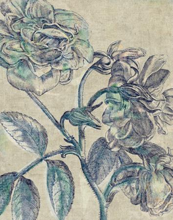 Belle Fleur I Crop Linen by Sue Schlabach
