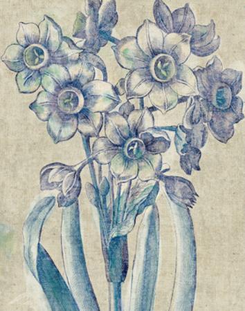Belle Fleur IV Crop Linen by Sue Schlabach