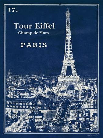 Blueprint Eiffel Tower