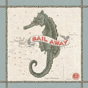 Drift Away Seahorse by Sue Schlabach