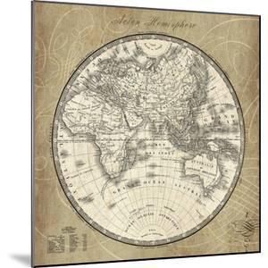 French World Map II by Sue Schlabach