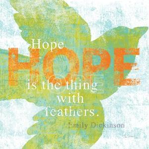 Letterpress Hope by Sue Schlabach