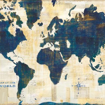 World Map Collage v2 by Sue Schlabach