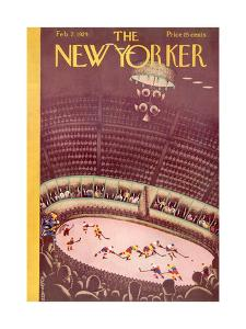 The New Yorker Cover - February 2, 1929 by Sue Williams