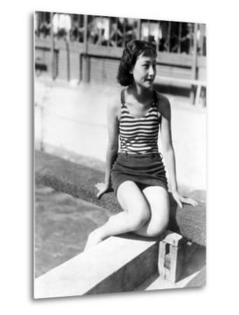Chinese Movie Star Yen Chou Shin, 1935