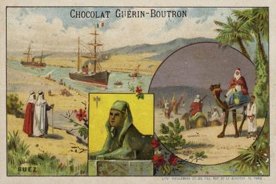 Suez--Giclee Print