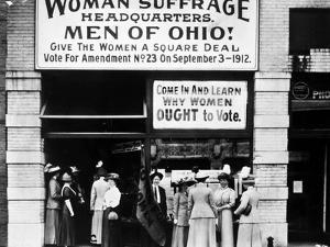 Suffrage Headquarters