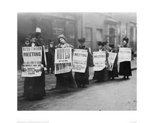 Suffragette Meeting 1910