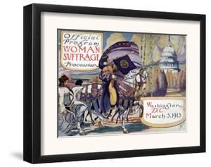 Suffragette Parade, 1913