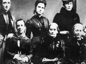 Suffragettes, 1888