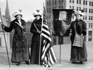 Suffragettes, C1910