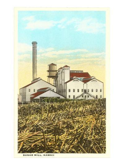 Sugar Cane Processing Mill--Art Print