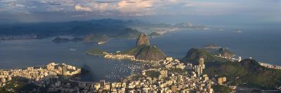 Sugar Loaf and Rio de Janeiro, Brazil-Michele Falzone-Photographic Print
