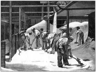 Sugar Making at the Counterslip Refinery, Bristol, 1873-WB Murray-Giclee Print