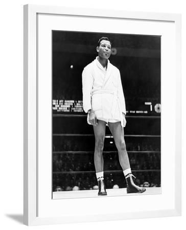 Sugar Ray Robinson--Framed Giclee Print