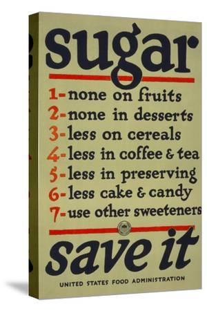 Sugar, Save It