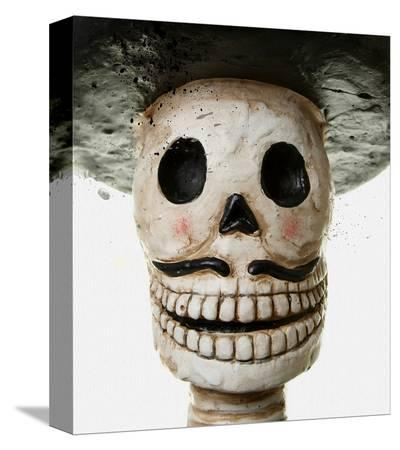 Sugar Skull Mariachi--Stretched Canvas Print