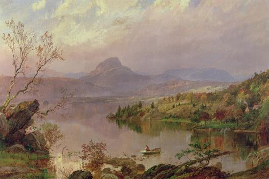 Sugarloaf from Wickham Lake, 1876-Jasper Francis Cropsey-Giclee Print