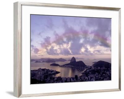 Sugarloaf, Guanabara Bay, Rio de Janeiro, Brazil-Silvestre Machado-Framed Photographic Print