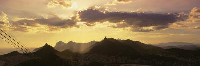Sugarloaf of Buildings in a City at Dusk, Rio de Janeiro, Brazil--Photographic Print