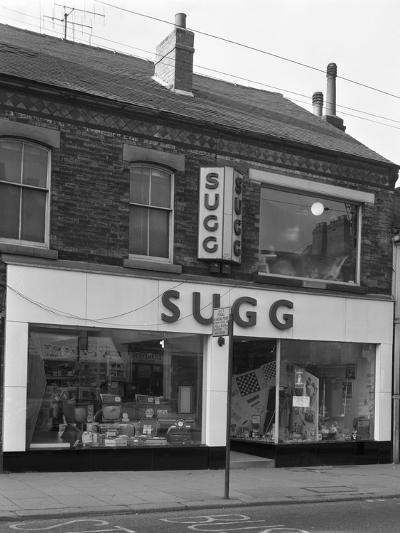 Suggs Shop, Rotherham, South Yorkshire, 1960-Michael Walters-Photographic Print