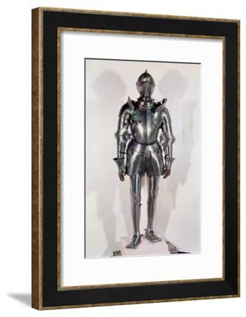 Suit of Armour Thought to Have Belonged to Chevalier Bayard, circa 1510--Framed Giclee Print