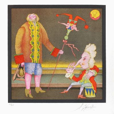 Suite Carnaval de Saint Petersbourg No. 15-Mihail Chemiakin-Limited Edition