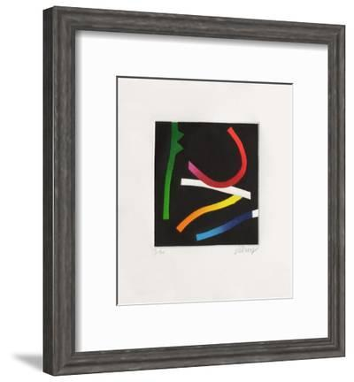 Suite Fluorescente II-Bertrand Dorny-Framed Limited Edition