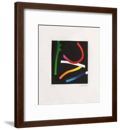 Suite Fluorescente II-Bertrand Dorny-Framed Limited Edition