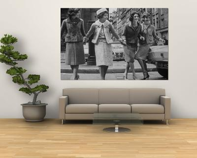 Suits Designed by Chanel-Paul Schutzer-Wall Mural