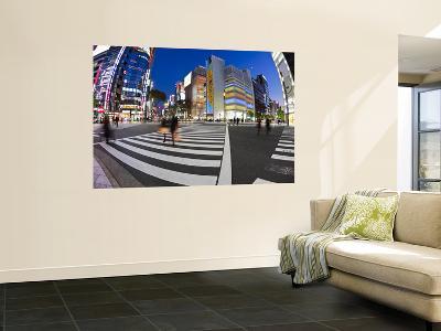 Sukiyabashi Crossing, Ginza, Tokyo, Japan-Jon Arnold-Wall Mural