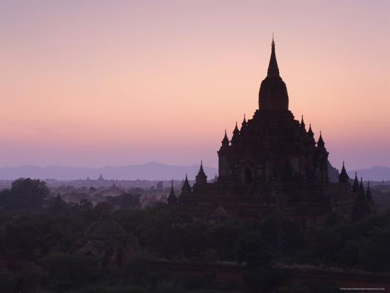 Sulamani Pahto, Bagan (Pagan), Myanmar (Burma), Asia-Jochen Schlenker-Photographic Print