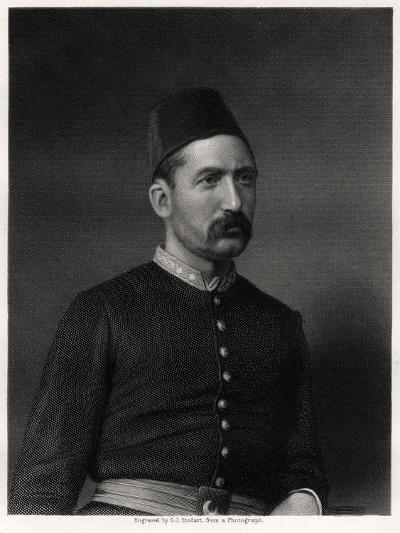 Suleiman Pasha, 19th Century-George J Stodart-Giclee Print