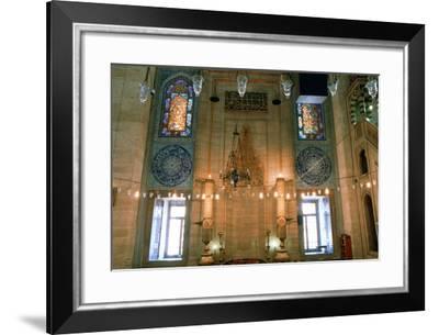 Suleymaniye Mosque, Interior, 1557--Framed Photographic Print
