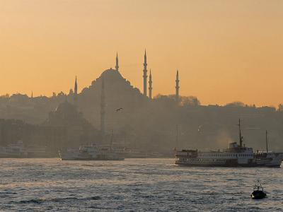 Suleymaniye Mosque, Istanbul, Turkey, Istanbul, Turkey-Jon Arnold-Photographic Print
