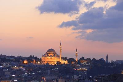 Suleymaniye Mosque. Istanbul. Turkey-Tom Norring-Photographic Print