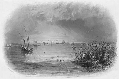 Sulina, Mouth of the Danube, c1838-Robert Wallis-Giclee Print