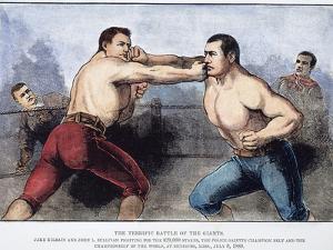 Sullivan and Kilrain Fight