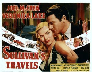Sullivan's Travels, Veronica Lake, Joel Mccrea, 1941