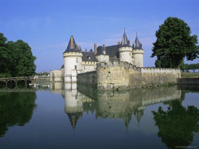 Sully-Sur-Loire Chateau, Loire Valley, Unesco World Heritage Site, France, Europe-Roy Rainford-Photographic Print